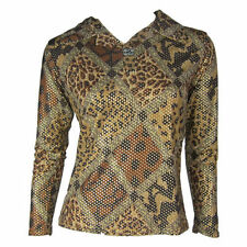 Unbranded Polyester Long Sleeve Geometric Women's Tops & Blouses