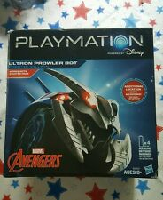 Hasbro - Playmation Marvel Avengers Ultron Prowler Bot (Silver/Blue) BRAND NEW!
