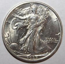 1935-S Liberty Walking Half Dollar 90% Silver 10% Copper  **Free Shipping**