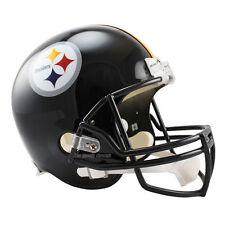PITTSBURGH STEELERS RIDDELL VSR4 NFL FULL SIZE REPLICA FOOTBALL HELMET