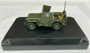 Victoria Vitesse R017 Willys Jeep Armoured Car General Leclerc 1:43 Scale