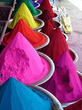 250g / 6 colors Holi Gulala KUMKUM Poudre powder festival des couleurs INDE