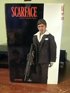 Sideshow Scarface Talking 12 inch Action Figure Factory