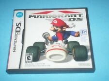 MARIO KART DS (Nintendo DS, 2005) GAME CAN BE PLAYED IN ENGLISH OR FRENCH