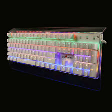 T11 Mechanical with LED Backlit 104 Key Transparent Gaming Keyboard A40091.