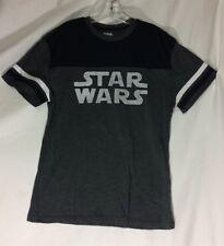 Star Wars 5th Sun 3 ToneGray Crew Neck t-Shirt Large New