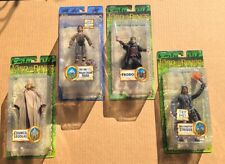 (4) Lord Of The Rings Action Figure Lot FRODO LEGOLAS STRIDER LOTR [NEW]