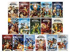 Avatar: The Last Airbender English Manga Anime Comic Series Complete Books 1-16