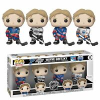 Wayne Gretzky Funko 4-Pack Fanatics Exclusive Legends POP Figurine Set