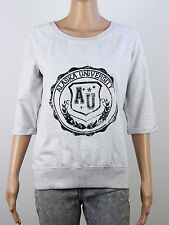 Evie womens size 12 lightweight pullover grey sweatshirt W3022