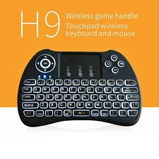 Backlight Backlit Mini 2.4G Wireless Keyboard Air Mouse Touchpad for For Android