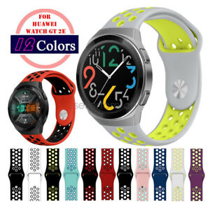 Quick Fit Silicone Sport Watch Band for Huawei Watch GT2e 46mm Wrist Strap