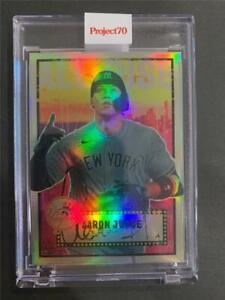 2021 Topps Project 70 #444 Aaron Judge Rainbow Foil 35/70 New York Nico Yankees