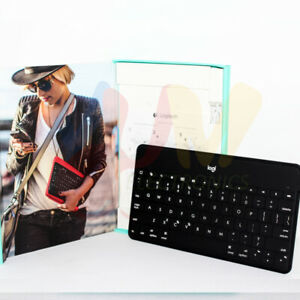 Logitech Keys To Go Ultra-Portable Keyboard Compatible iOS for iPad iPhone TV