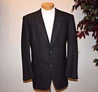 'HART,SCHAFFNER,& MARX' Mens 2 Button Wool Classic Coat Blazer Jacket SZ 44R