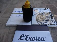 NOS  Velvet blue cover water bottle cycling L'Eroica new old stock Cinelli.Masi.