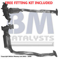 Fit with FIAT STILO Catalytic Converter Exhaust 91283H 1.2 (Fitting Kit Included