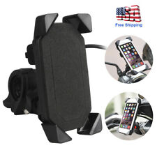 Motorcycle Handlebar Cell Phone Mount Holder + USB Charger for Smartphone Best