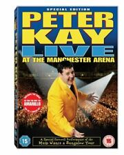 Peter Kay - Live At Manchester Arena [DVD] Brand New Sealed