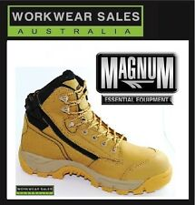 Magnum Precision Max Ct WP Safety Boot - Mens Wheat 8
