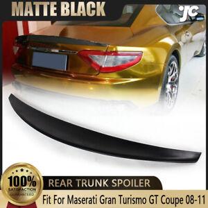 FRP Rear Trunk Spoiler Boot Wing Lip For Maserati GranTurismo GT Coupe 2008-2011