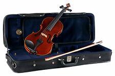 Brioso Violinenset 4/4 Violine Geige Koffer Bogen Fichte Ahorn Set Anfänger Case