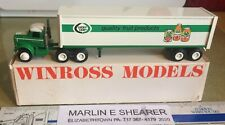LUCKY LEAF / KNOUSE FOODS  fruit products   9000 TRACTOR TRAILER WINROSS TRUCK