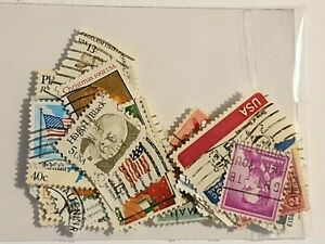 50 USA - Mixed Years  - Used Stamps