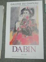 DABIN Exposition Eté 1996