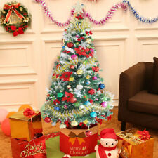 5 Feet Fully Decorated Christmas Pine Tree with LED Multicolor Lights and Stand