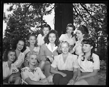 N76 1950'S  NEGATIVE..GORGEOUS ACTRESS SINGER GINNY SIMMS,OTHER BEAUTIFUL LADIES
