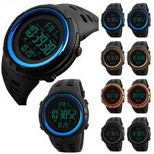 Waterproof Men's Military Army Digital Stopwatch Date Sports Walking Wrist Watch