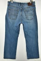 Lucky Brand 181 Relaxed Boot Cut Bootcut Jeans Mens Size 34x30 Blue Meas. 33x30