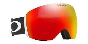 New Oakley Flight Deck XL Snow Goggle - Matte Black w/ Prizm Torch