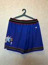 NBA PHILADELPHIA SIXERS 76ERS BASKETBALL SHORTS JERSEY CHAMPION