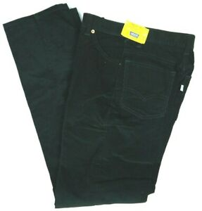 Vintage 70s Levis Corduroy Pants Big E Green Deadstock NOS Womens 28x33 USA NWT