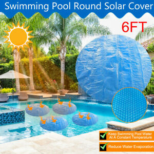 Round Pool Cover Protector Intex 4 5 6 ft Foot Above Ground Blue Protection