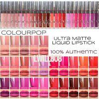Colourpop ULTRA MATTE LIP Liquid Lipstick AUTHENTIC FullSize BNIB ☆ Choose Color