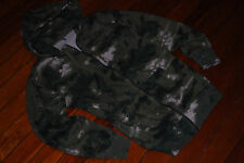 "Men's Crooks and Castles Camo ""Les Voleurs"" Zip Sweatshirt Hoodie (Large)"