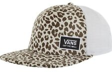6a922af2a8a5d VANS off The Wall - Beach Bound Trucker Birch   Leopard Print Baseball Cap