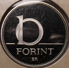 Rare Proof Hungary 2005-BP 10 Forint~Only 7,000 Minted~Minted In Budapest~Fr/Shi