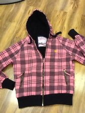 Backswing Après Ski Black/Pink Jacket Size 12/40