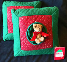 Boyds Home Christmas pillows
