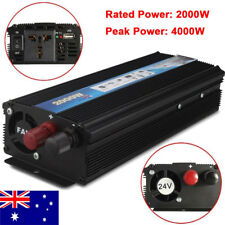 2000W-4000W DC 12V AC 220V Car Converter Power Inverter Electronic Charger