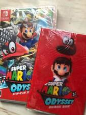 New Nintendo Switch Super Mario Odyssey Game with passport case