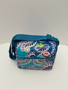 Vera Bradley Stay Cooler Insulated Lunch Bag Cooler Waikiki Paisley - $45 MSRP
