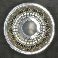 """1978-1982 Lincoln Versialles Mark V Town Car Mercury Cougar 15"""" WIRE WHEEL COVER"""