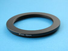 67mm to 52mm Stepping Step Down Ring Camera Lens Filter Adapter Ring 67-52mm
