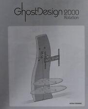 MELICONI Ghost Design 2000 rotation STAFFA TV PARETE 81 - 160 cm (eg913a51)