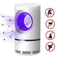 Lampada UV LED Trappola Antizanzare Antimosche Mosquito Trap Killer Lamp